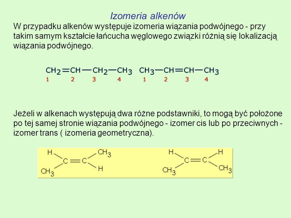 Izomeria alkenów
