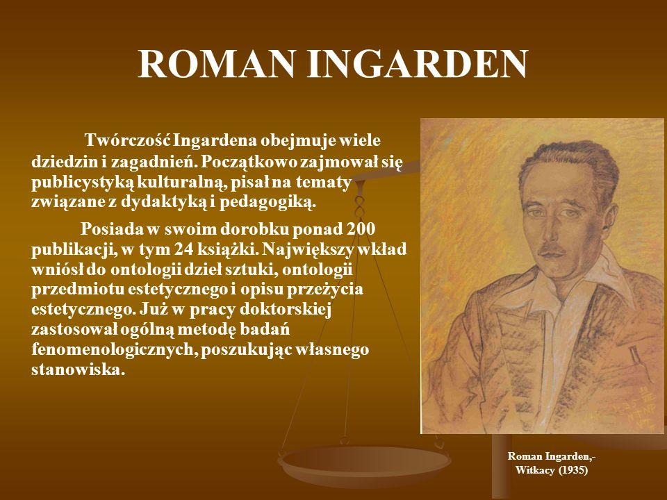 ROMAN INGARDEN