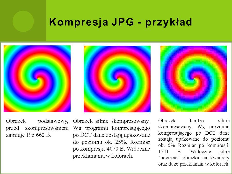 Kompresja JPG - przykład