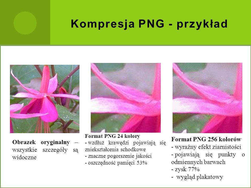 Kompresja PNG - przykład
