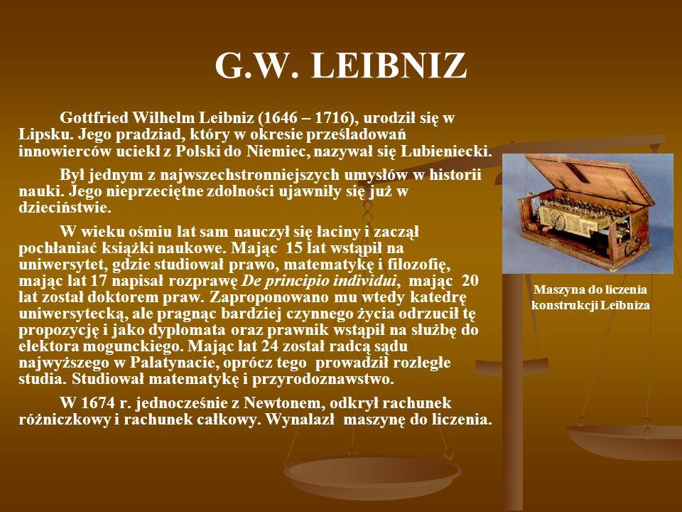 Maszyna do liczenia konstrukcji Leibniza
