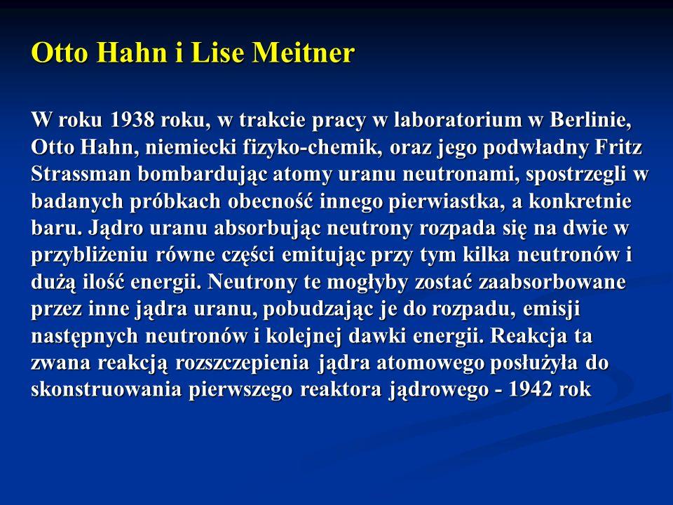 Otto Hahn i Lise Meitner