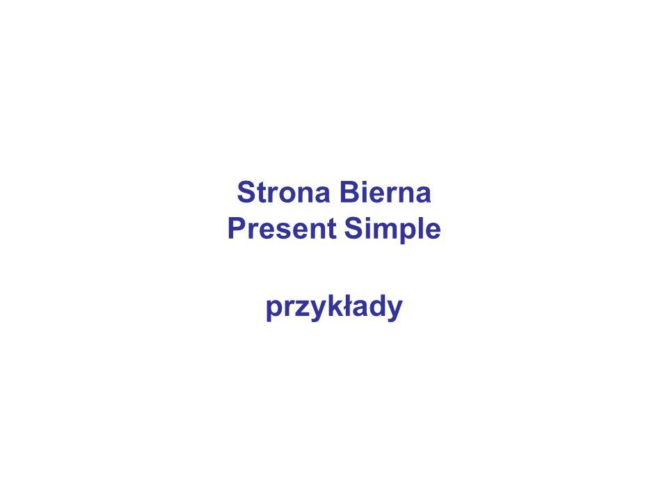 Strona Bierna Present Simple