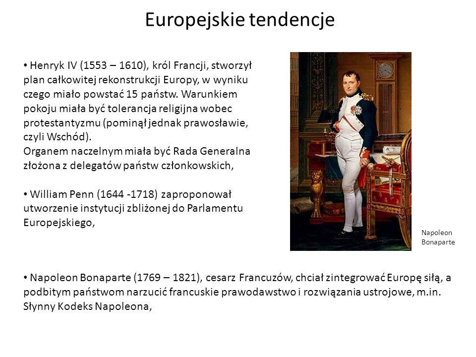 Europejskie tendencje