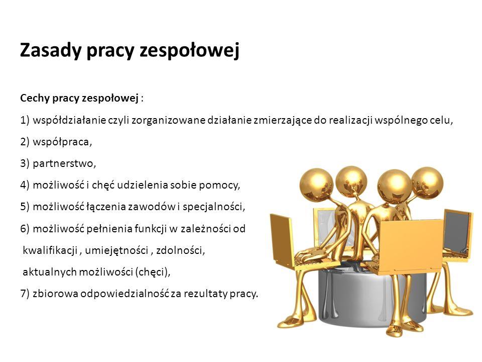 Zasady pracy zespołowej