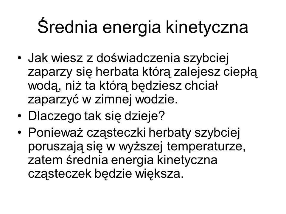 Średnia energia kinetyczna