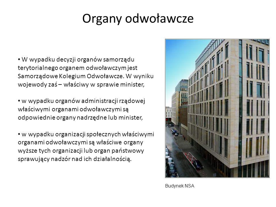 Organy odwoławcze