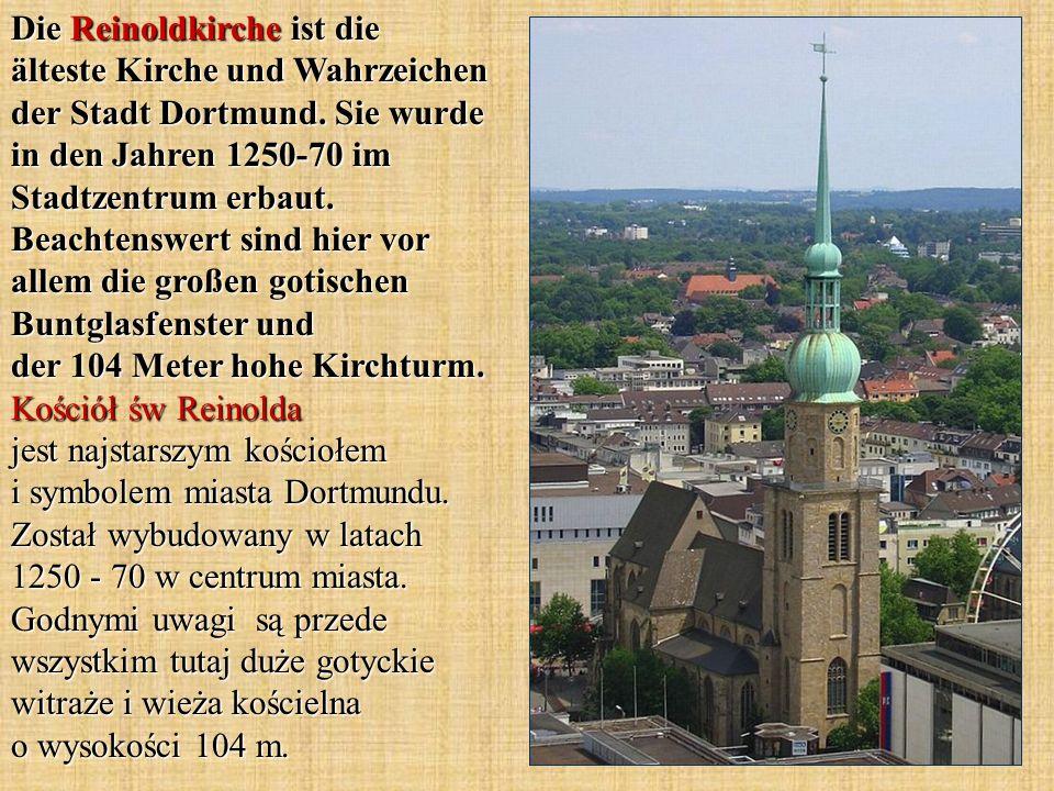 Die Reinoldkirche ist die älteste Kirche und Wahrzeichen der Stadt Dortmund.