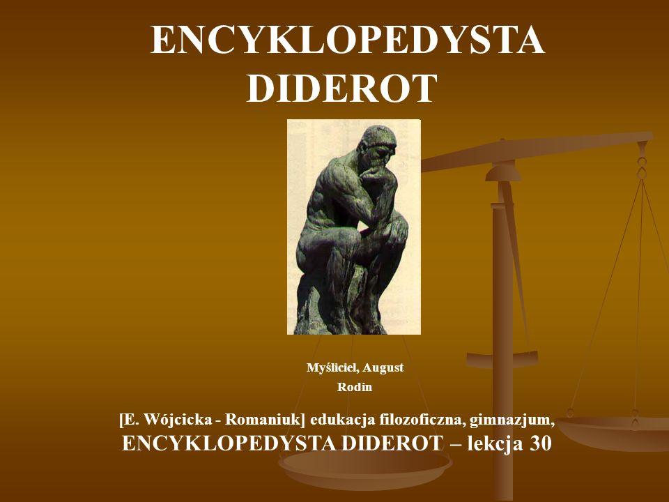 ENCYKLOPEDYSTA DIDEROT