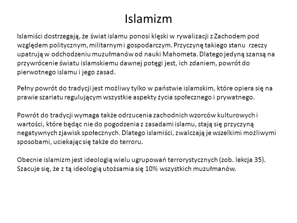 Islamizm