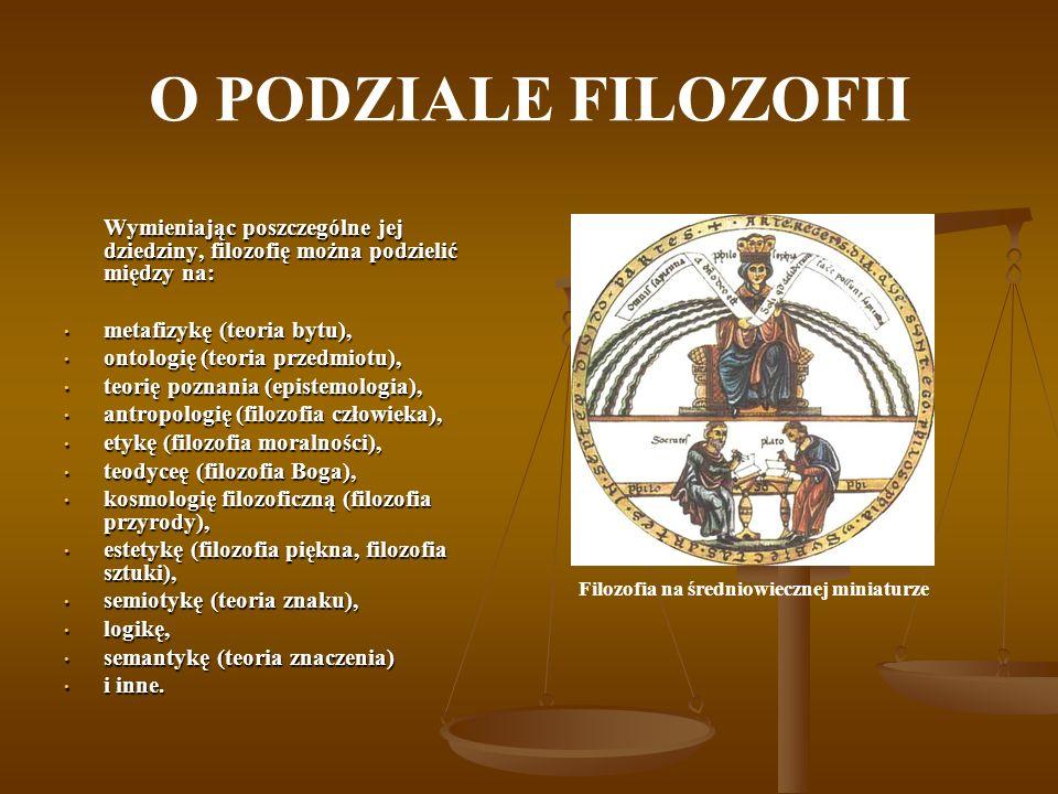 Filozofia na średniowiecznej miniaturze