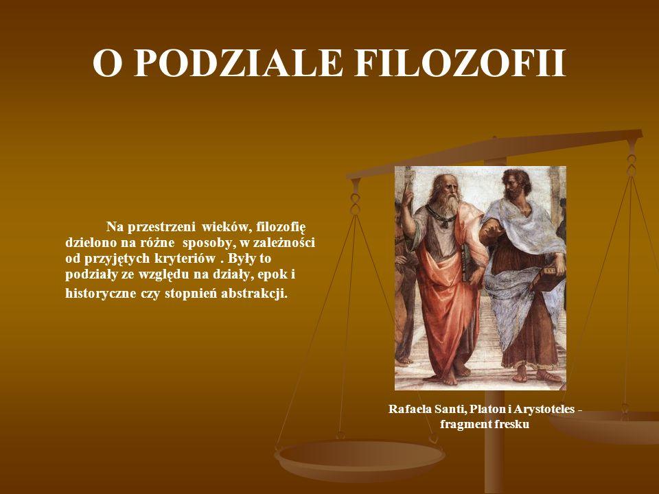 Rafaela Santi, Platon i Arystoteles - fragment fresku