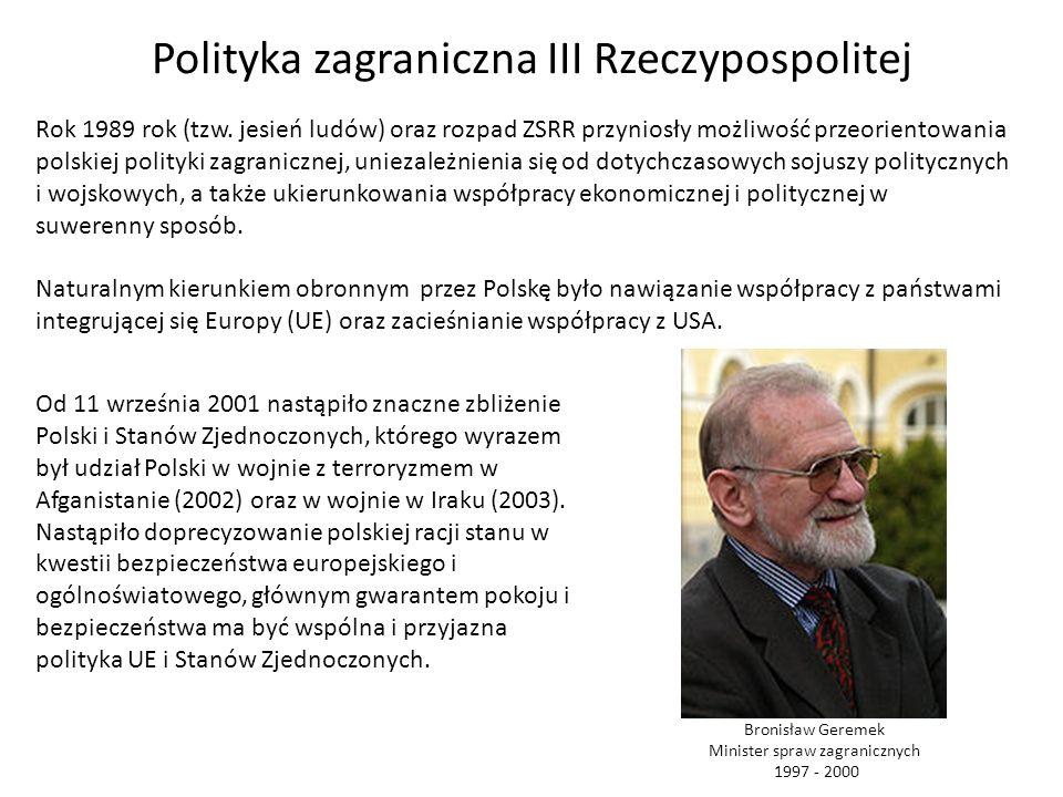 Polityka zagraniczna III Rzeczypospolitej