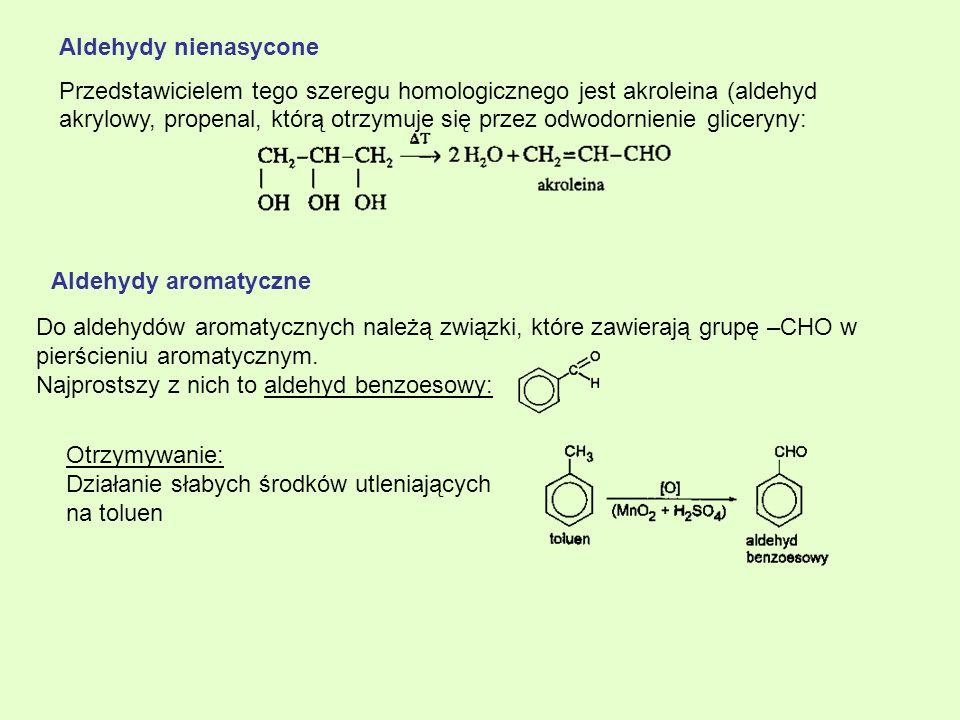Aldehydy nienasycone