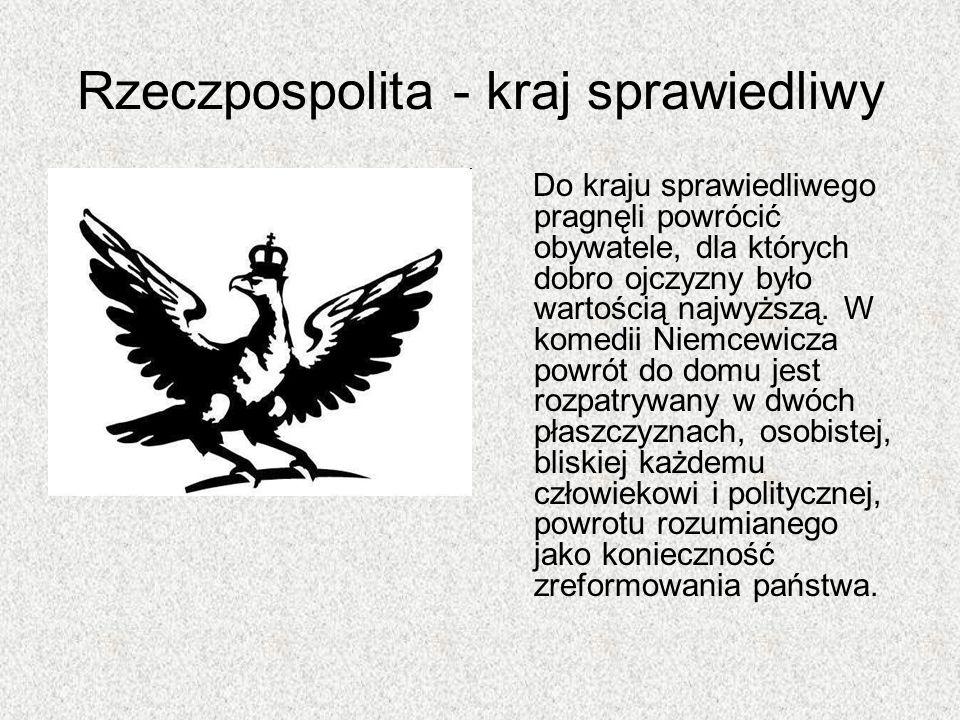 Rzeczpospolita - kraj sprawiedliwy