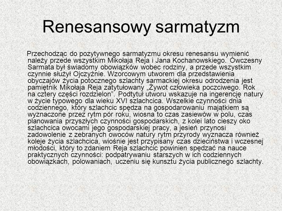 Renesansowy sarmatyzm