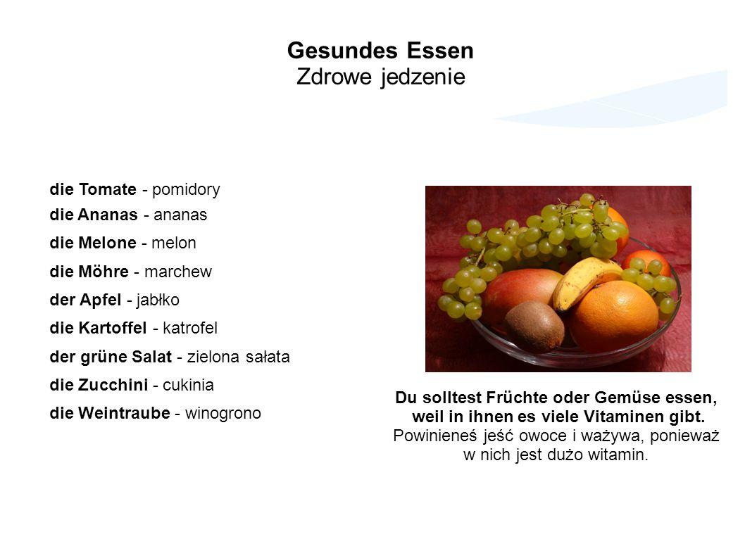 Gesundes Essen Zdrowe jedzenie die Tomate - pomidory