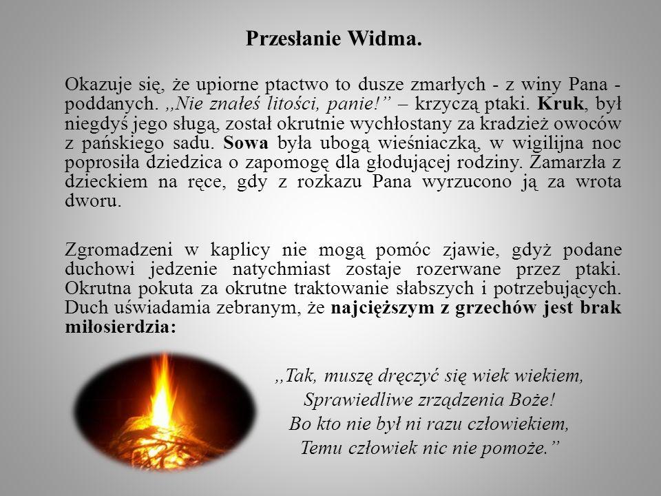 Przesłanie Widma.