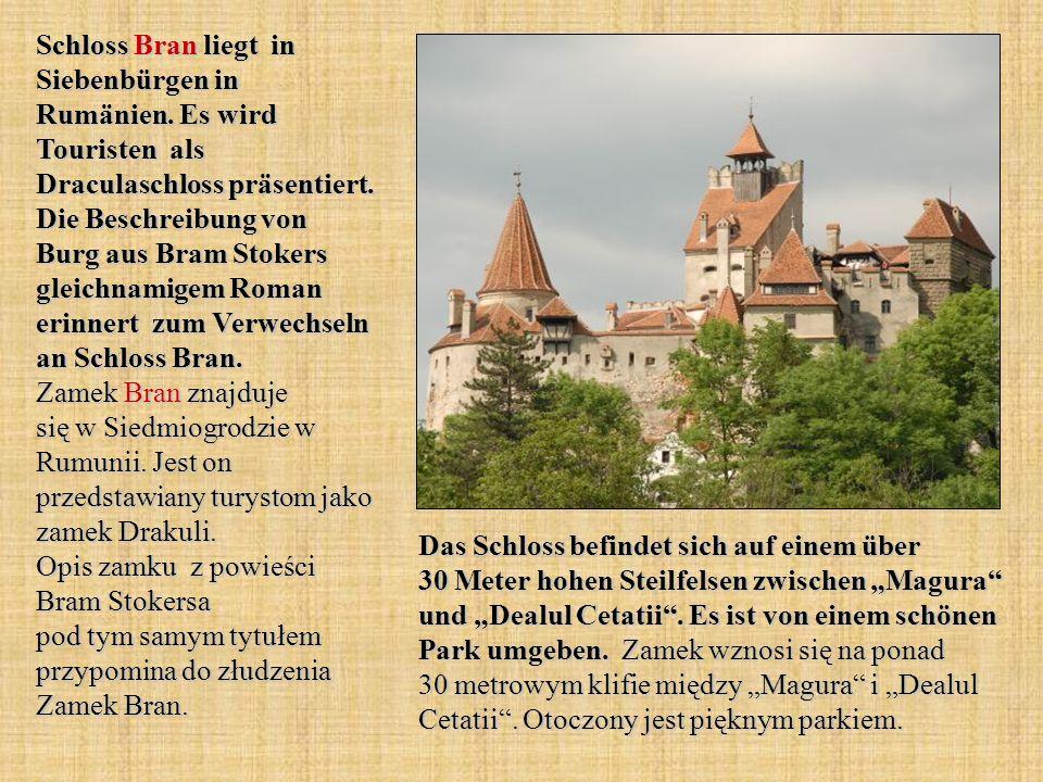 Schloss Bran liegt in Siebenbürgen in Rumänien
