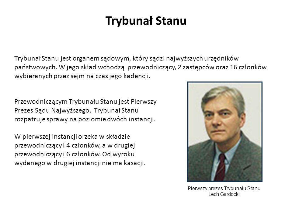 Pierwszy prezes Trybunału Stanu