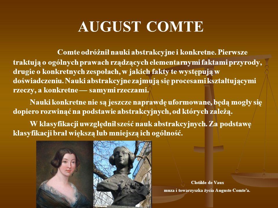 muza i towarzyszka życia Auguste Comte a.