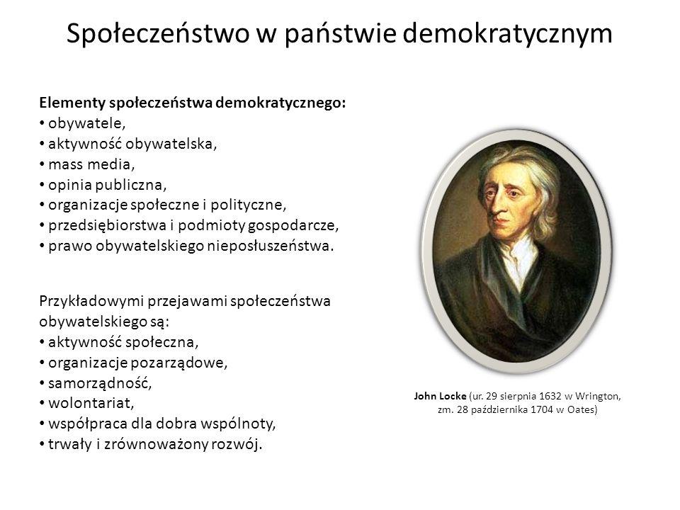 Społeczeństwo w państwie demokratycznym
