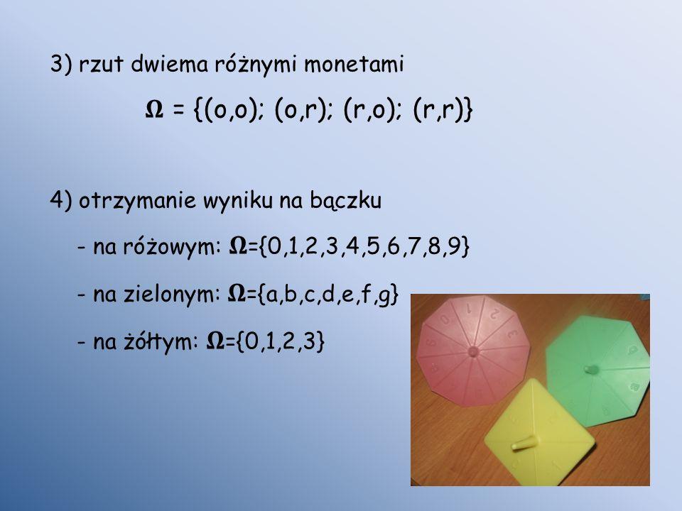 𝛀 = {(o,o); (o,r); (r,o); (r,r)}
