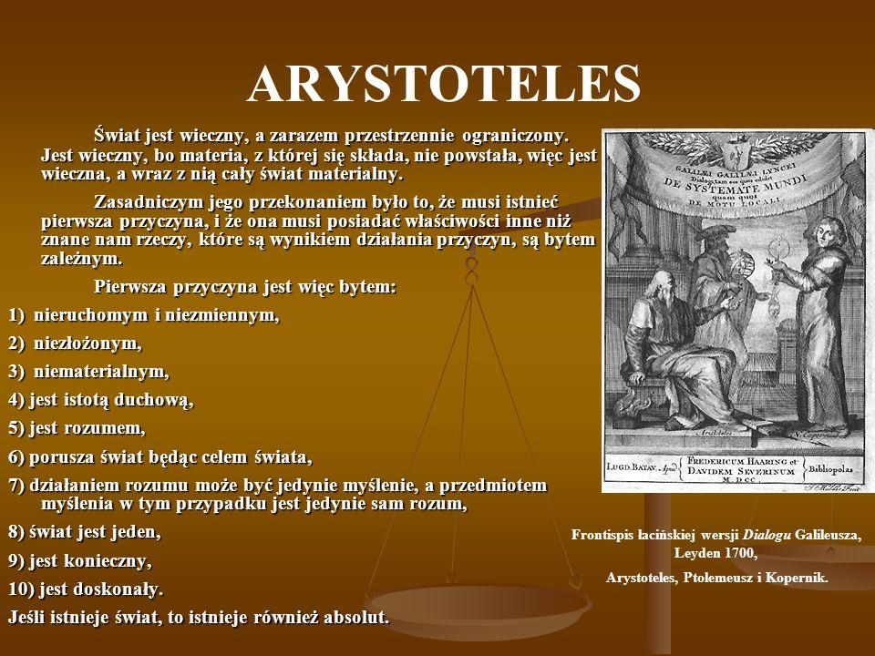 Frontispis łacińskiej wersji Dialogu Galileusza, Leyden 1700,