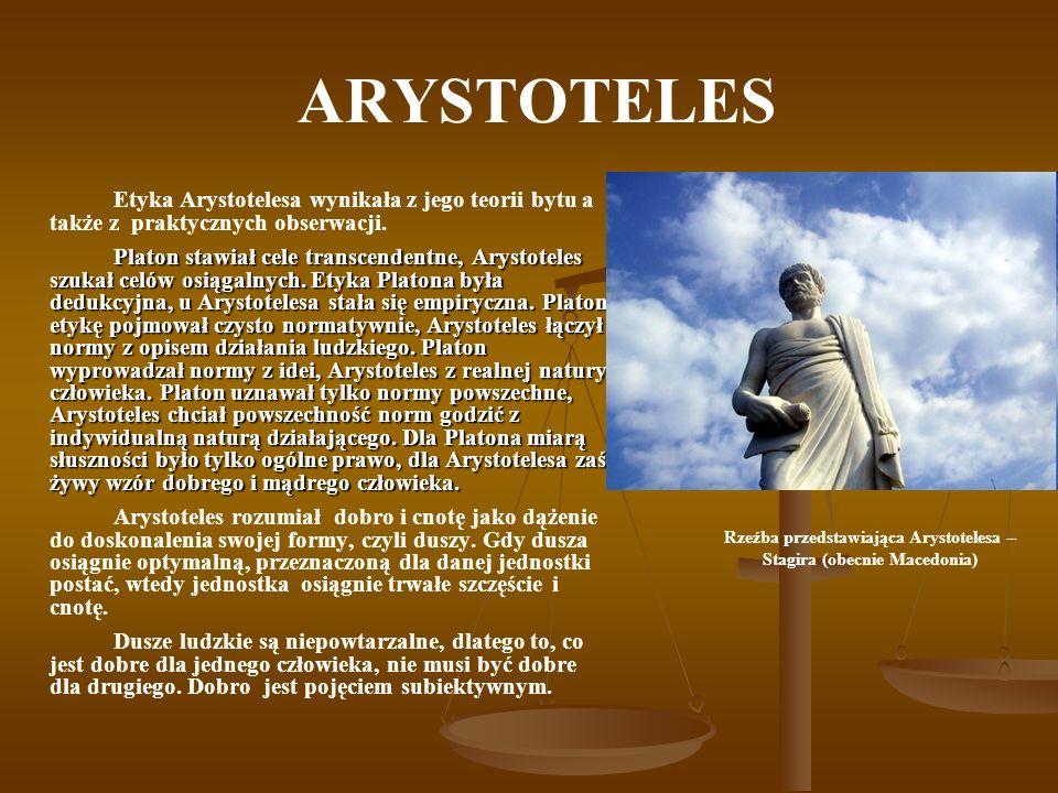 Rzeźba przedstawiająca Arystotelesa – Stagira (obecnie Macedonia)