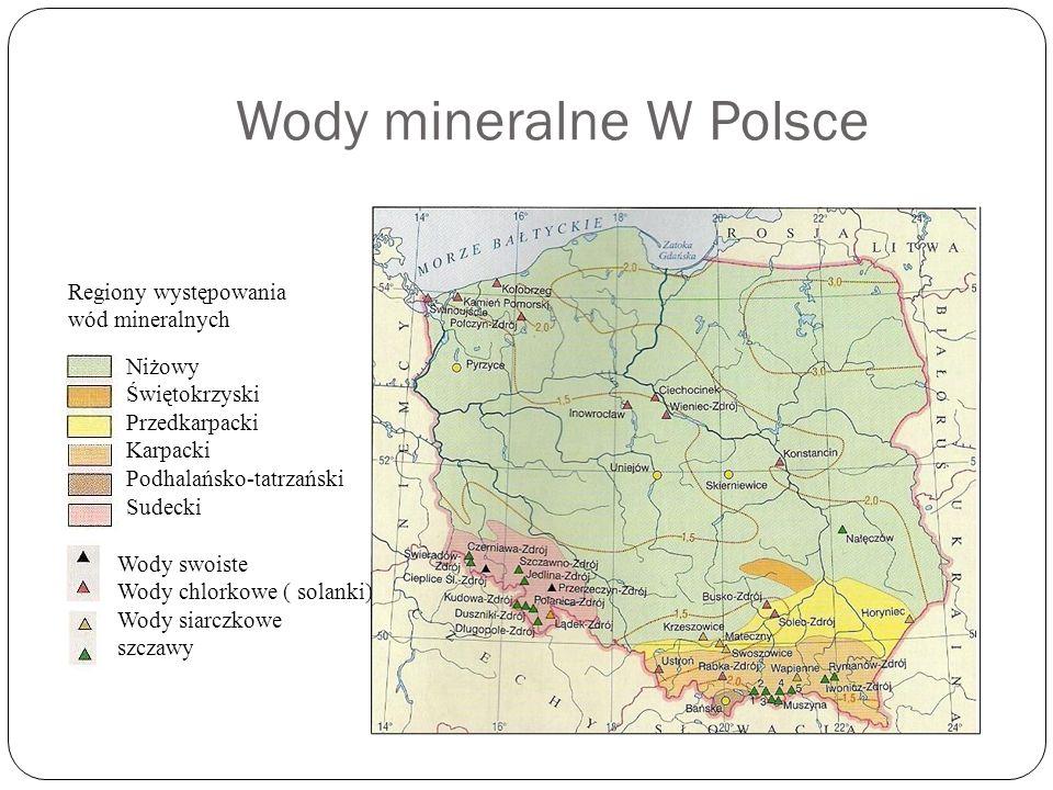 Wody mineralne W Polsce