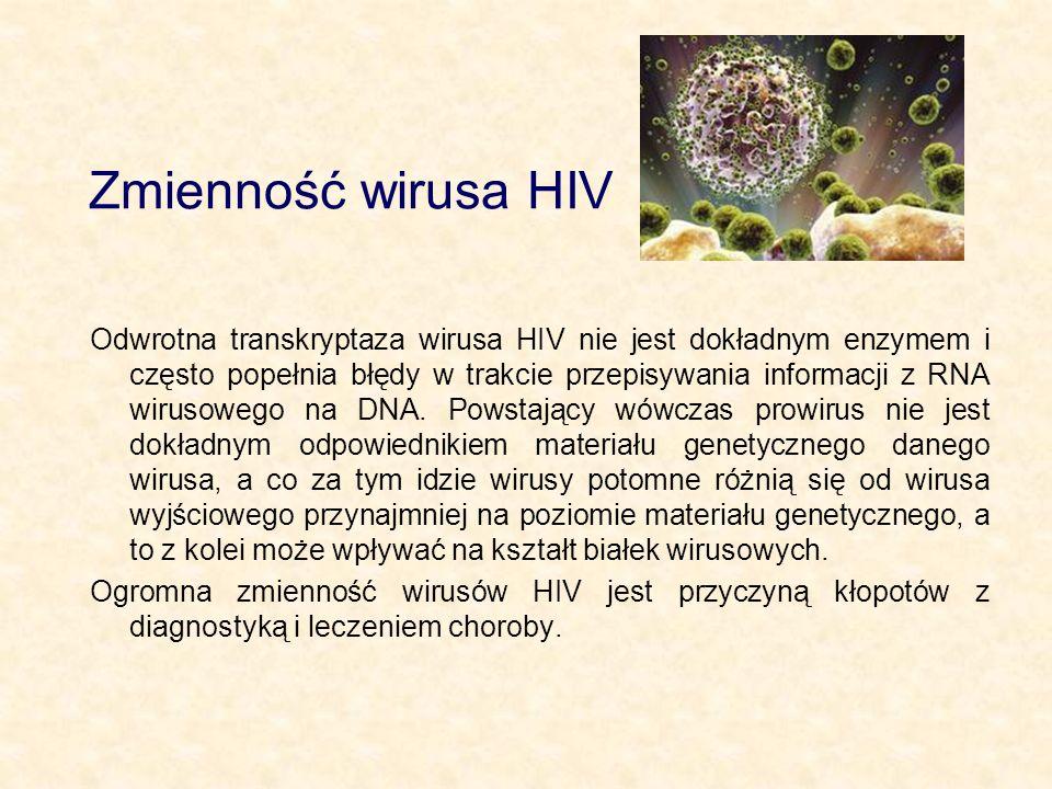 Zmienność wirusa HIV