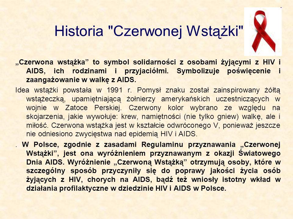 Historia Czerwonej Wstążki