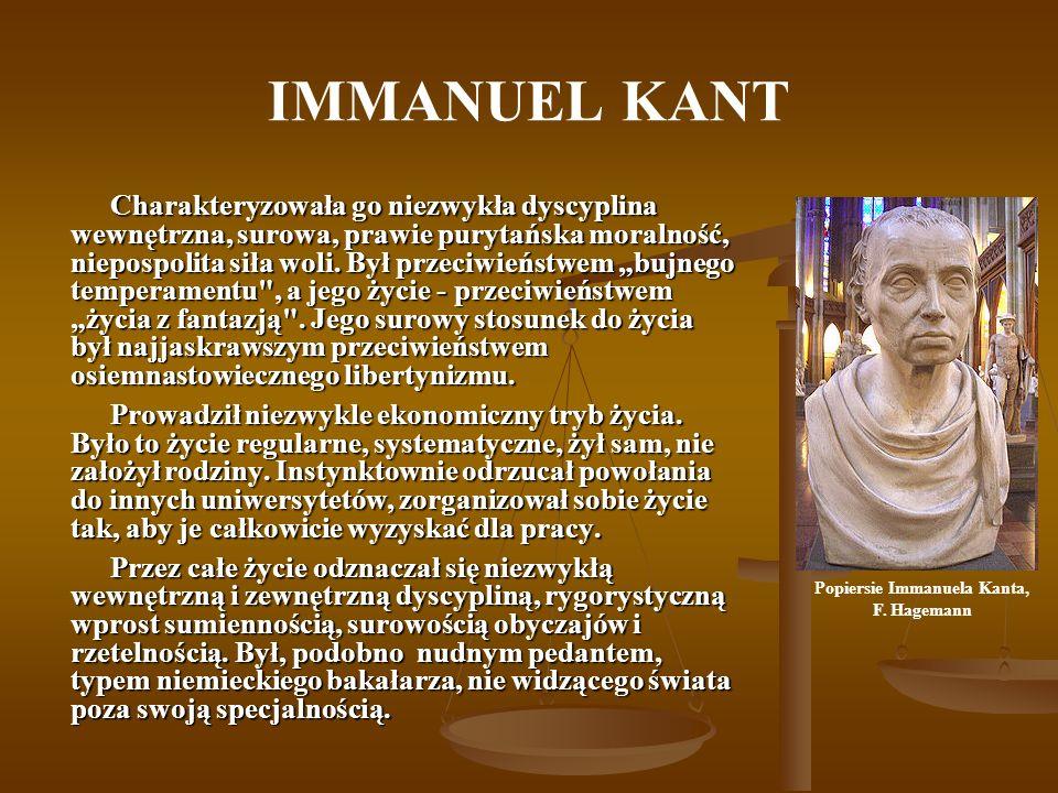 Popiersie Immanuela Kanta,