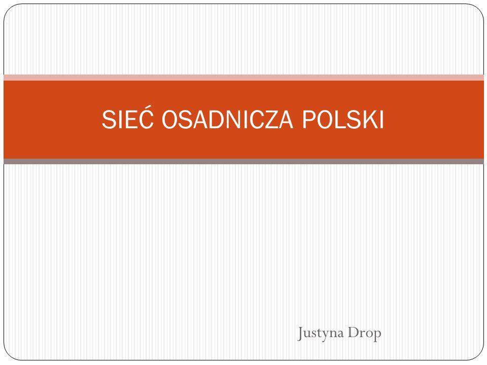 SIEĆ OSADNICZA POLSKI Justyna Drop