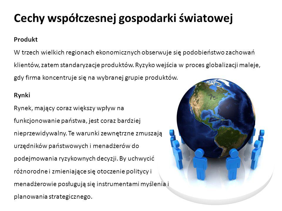 Cechy współczesnej gospodarki światowej