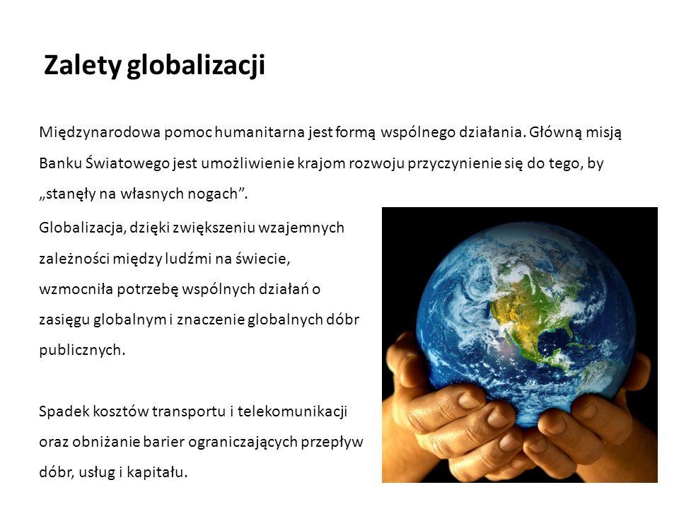 Zalety globalizacji
