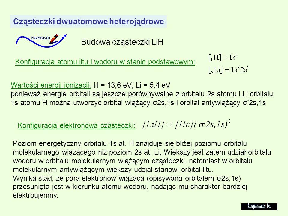 Cząsteczki dwuatomowe heterojądrowe