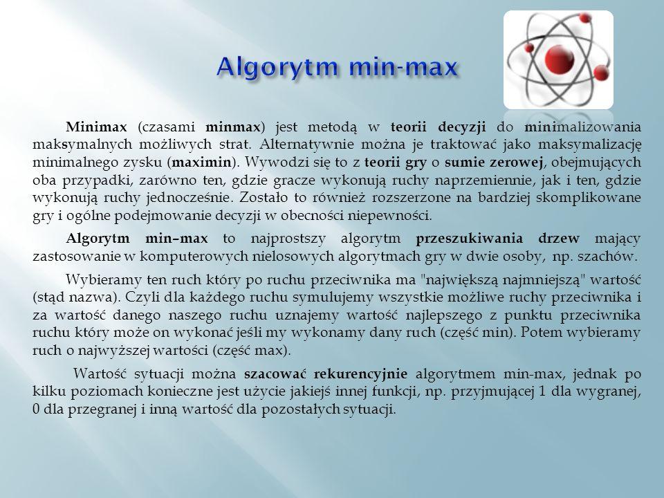 Algorytm min-max