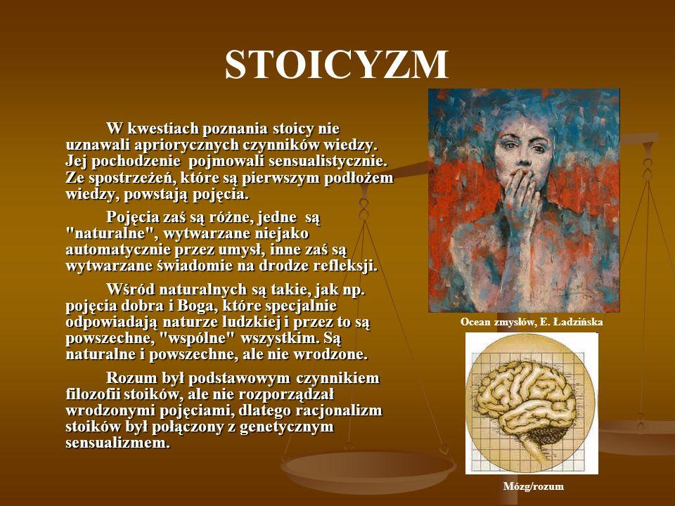 Ocean zmysłów, E. Ładzińska