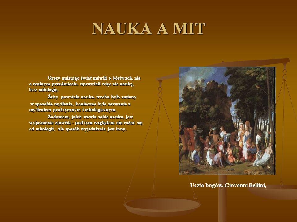 Uczta bogów, Giovanni Bellini,