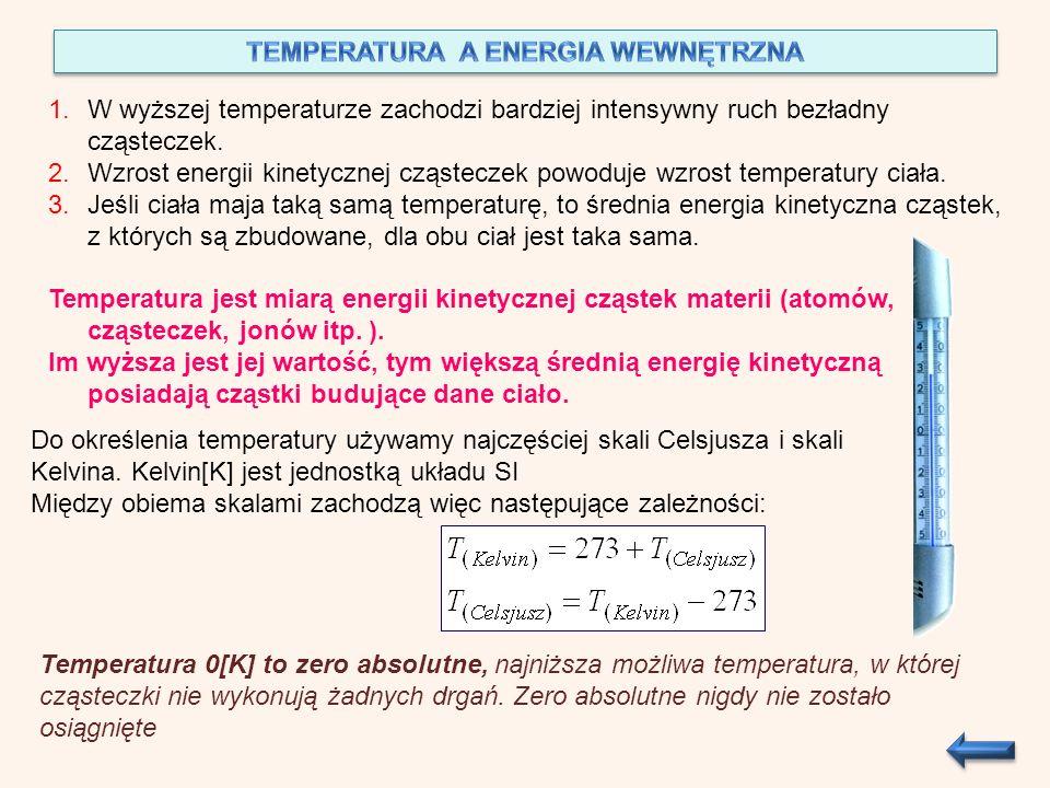 TEMPERATURA A ENERGIA WEWNĘTRZNA
