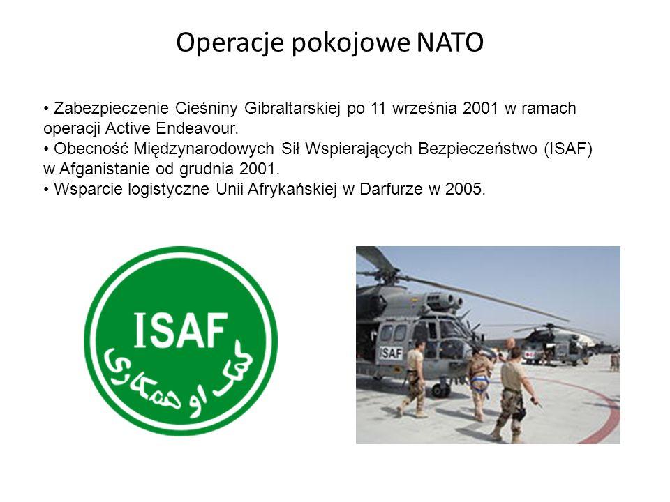 Operacje pokojowe NATO