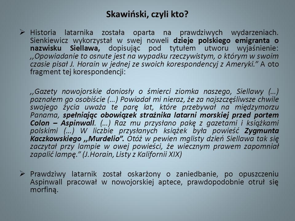Skawiński, czyli kto