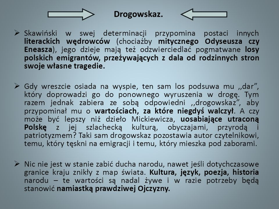 Drogowskaz.