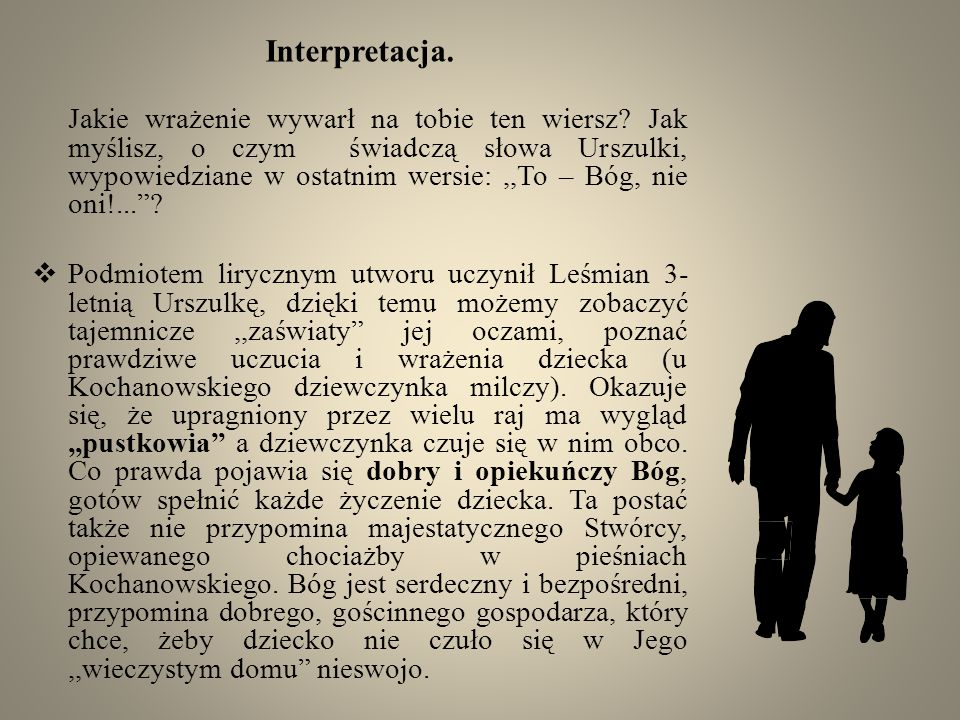 Interpretacja.