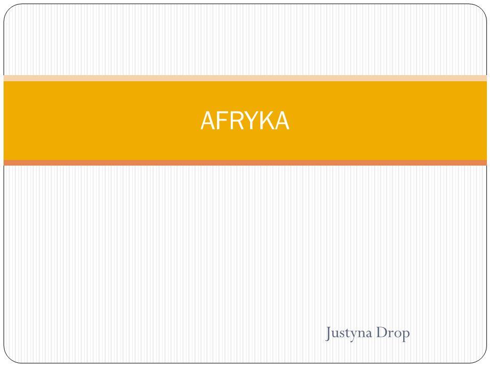 AFRYKA Justyna Drop