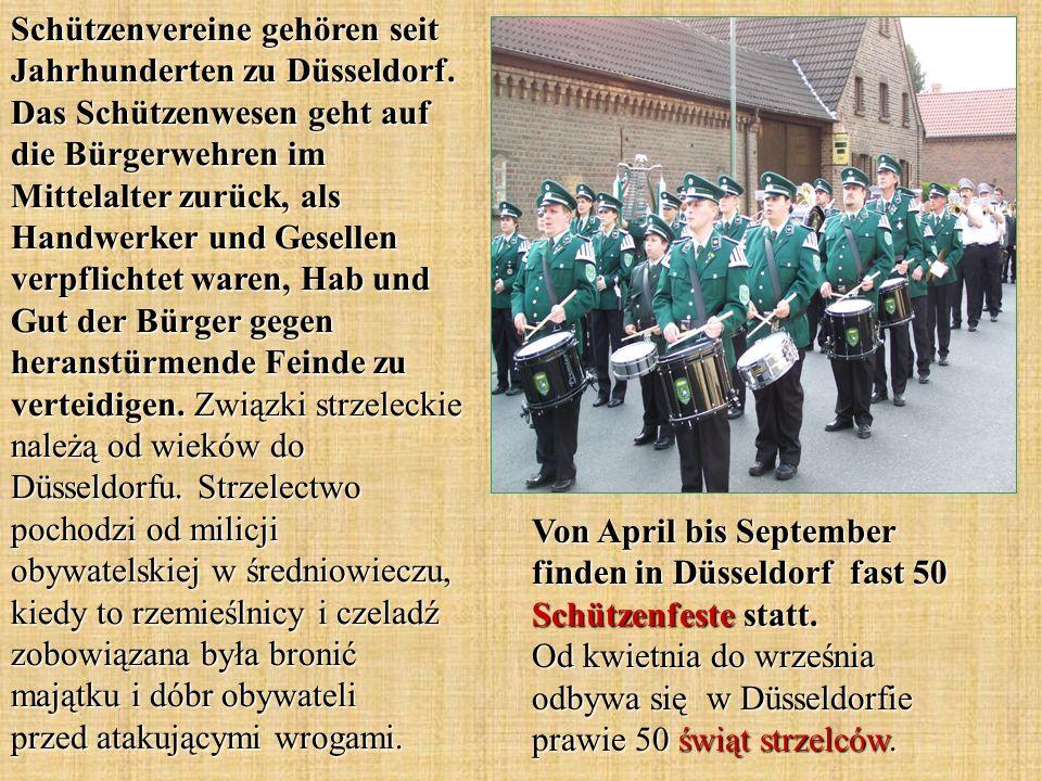 Schützenvereine gehören seit Jahrhunderten zu Düsseldorf