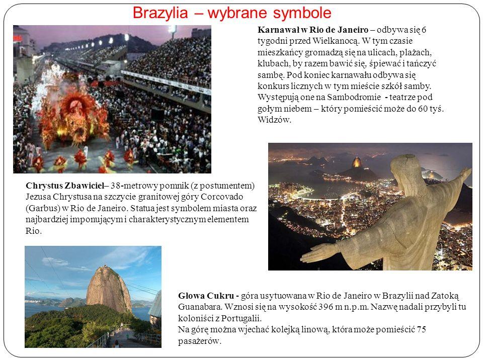 Brazylia – wybrane symbole