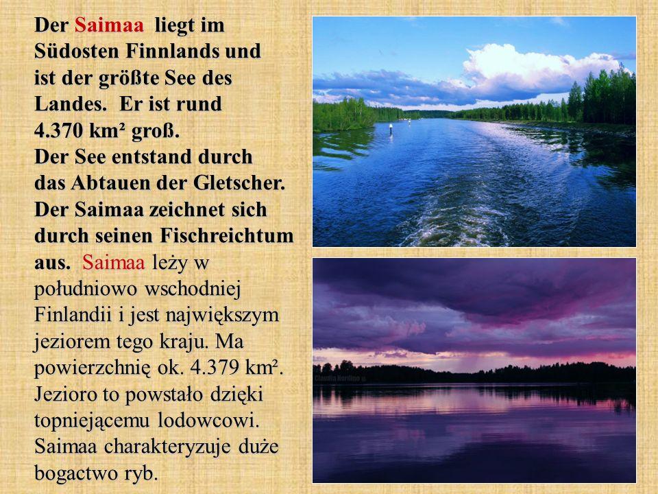 Der Saimaa liegt im Südosten Finnlands und ist der größte See des Landes.