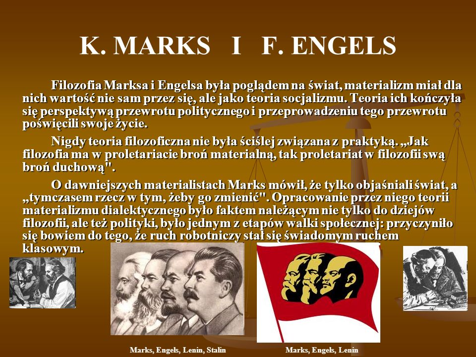 Marks, Engels, Lenin, Stalin